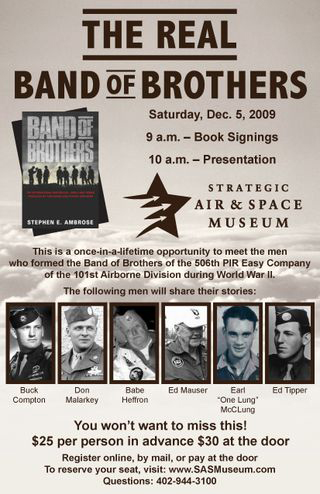 Band of Brothers Fundraiser, WWII Veterans