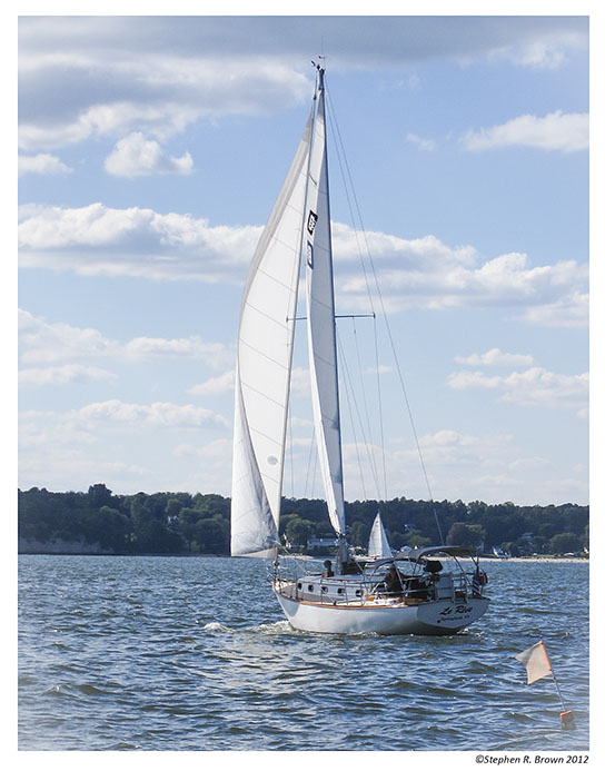 """TIDEWATER"":  Fall sailing on the Chesapeake Bay"