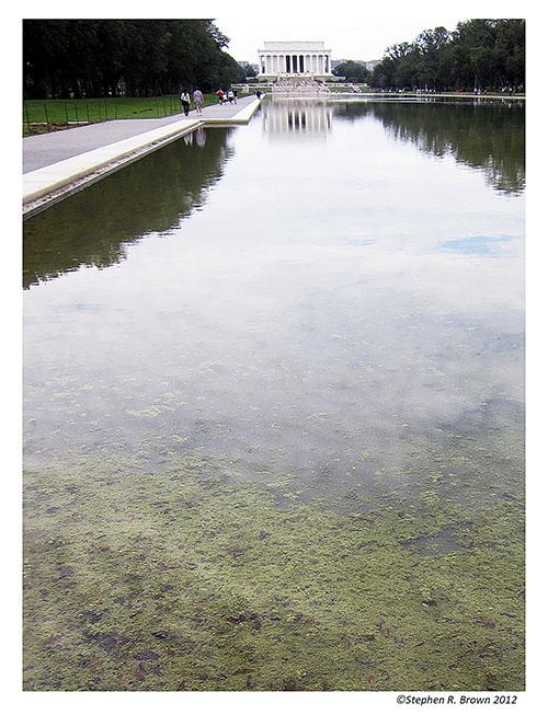 National Mall Reflecting Pool in Washington DC