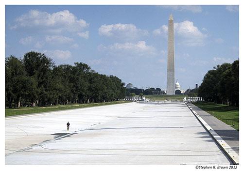 National Mall Reflecting Pool, Washington, DC